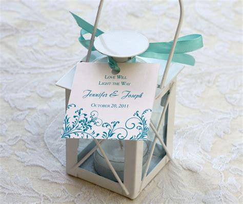Wedding Favors Lanterns by Wedding Day Stationery Letterpress Wedding