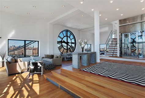Cheap Home Decor Nyc by Clock Tower Penthouse In Brooklyn Stuns With Timeless