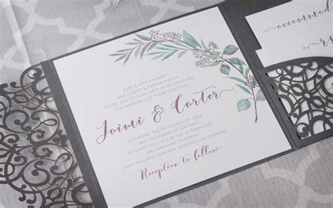 wedding invitations canada wedding invitations laser cut canada matik for