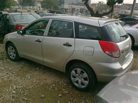 2006 Toyota Matrix Value Tokunbo 2006 Toyota Matrix Awd Price N1 7m Autos Nigeria