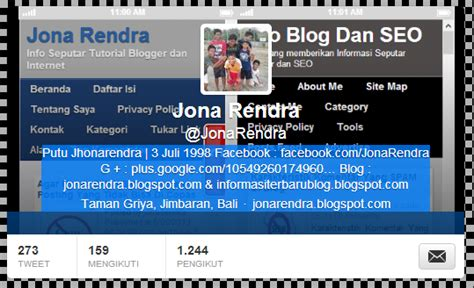 cara membuat username twitter kosong cara membuat nama akun twitter kita kosong