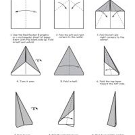 How To Make A Rocket Paper Airplane - rocket paper