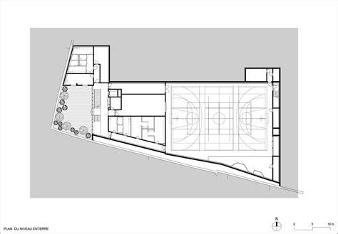 gymnasium floor plans gallery of marie paradis gymnasium explorations