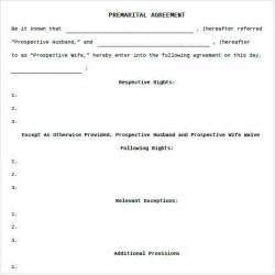 Prenup Template by Prenuptial Agreement Free Template Uk Free
