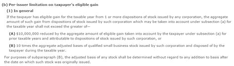 Section 1202 Exclusion by 100 Exclusion For Qualified Small Business Stock To Be