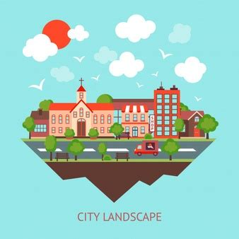 cityscape vectors   psd files