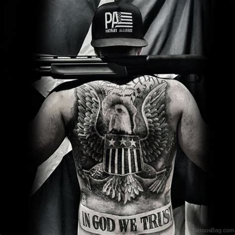 in god we trust tattoos 59 patriotic designs on back
