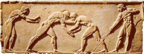 www luchadores griegos desnudos los juegos ol 237 mpicos miles de a 241 os atr 225 s