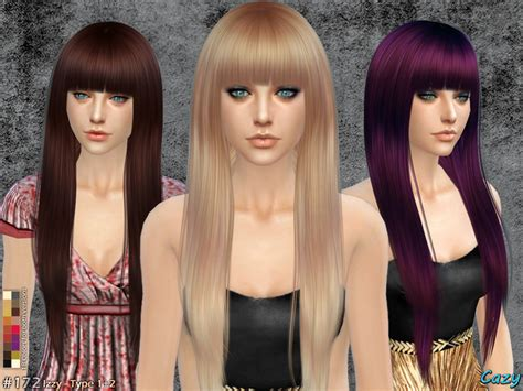 sims hair viphair downloads cazy s izzy female hairstyle
