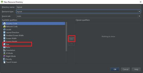 android studio layout resource file unable to customize new layout resource file in android