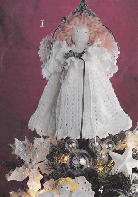 knitting pattern christmas tree topper angels crochet patterns christmas tree topper christmas