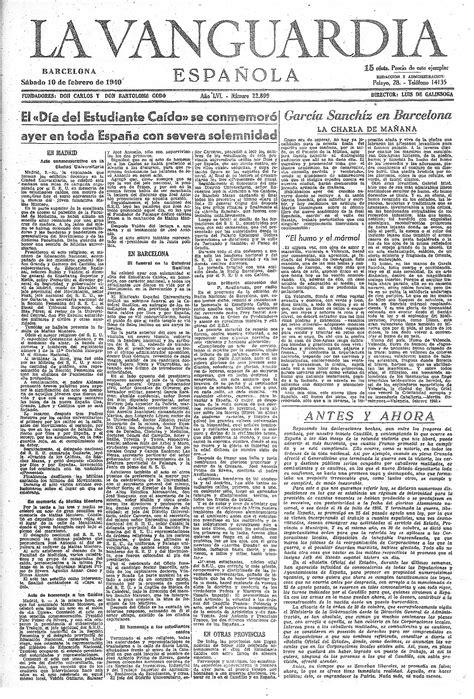 primera pgina vida en el 75 aniversario del asesinato de matias montero