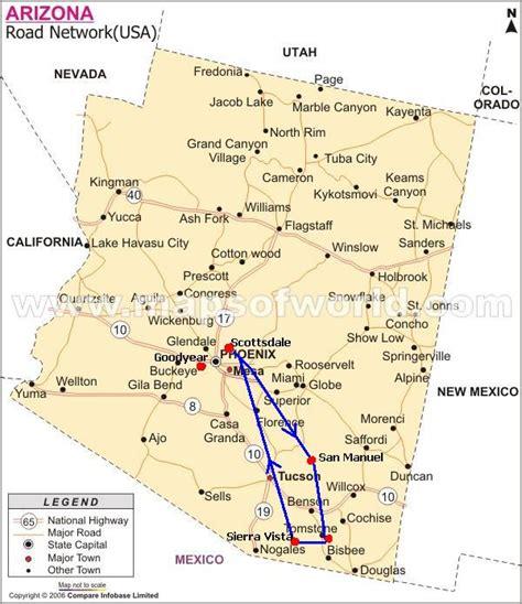 map of tombstone arizona arizona flying aviation aircraft airplane pics photos