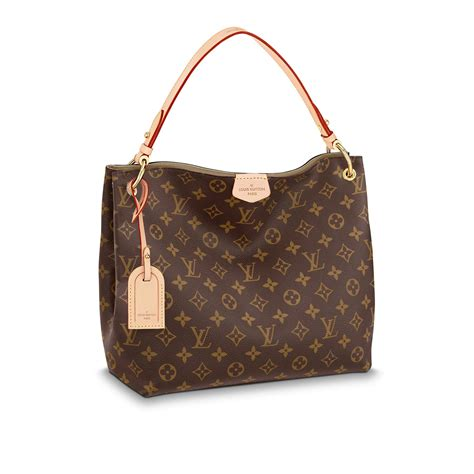 Louis Viton graceful pm monogram handbags louis vuitton