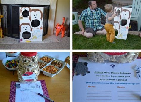 zoo themed birthday party games 17 best images about birthday party ideas on pinterest