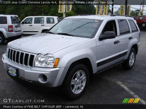silver jeep grand 2006 bright silver metallic 2006 jeep grand laredo