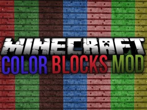 chagne colored flats flat colored blocks mod for minecraft 1 11 1 10 2 1 9 4