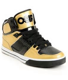 Osiris nyc 83 vlc gold amp black shoes at zumiez pdp