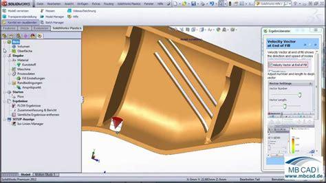 Tutorial Solidworks Plastics Pdf | solidworks plastics teil 1 deutsches video tutorial