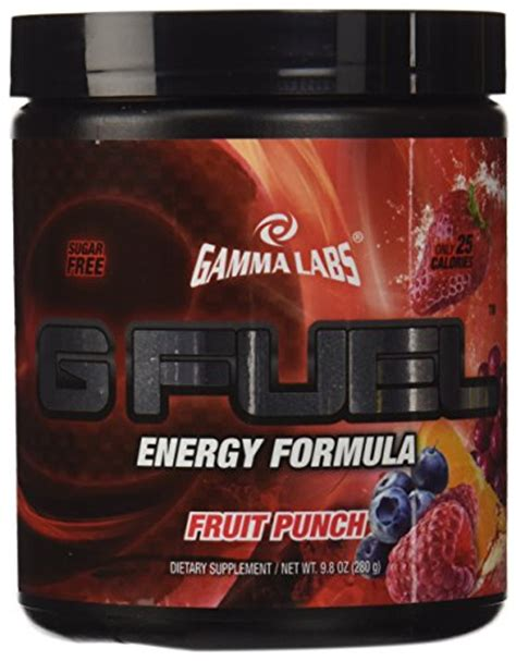 g fuel fruit punch gamma labs g fuel fruit punch 40 servings shopswell