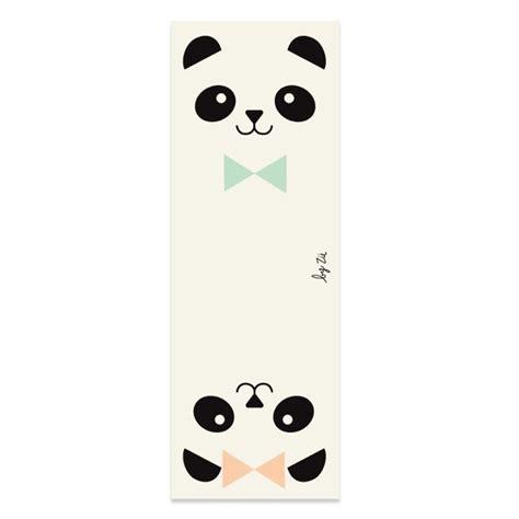 Marque Page Pandas Z 252 Deco Graphic
