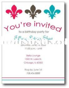 invitations wording theruntime
