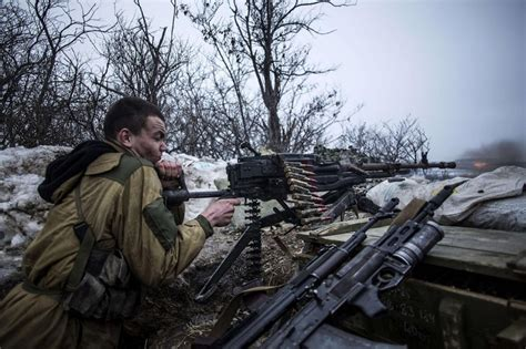 ukraine war ukrainian army brutal firefight with russia photos embedded with pro russian separatists al jazeera