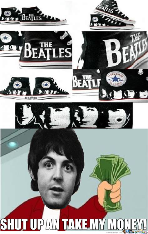 Beatles Meme - beatles shoes 2 by santicapo meme center