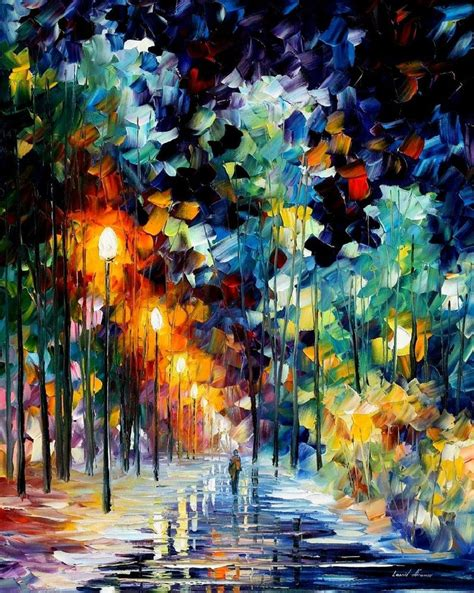 beautiful painting beautiful paintings by leonid afremov thearthunters