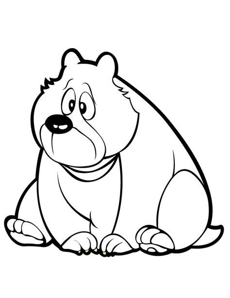 cute bear coloring pages car cabin car pictures