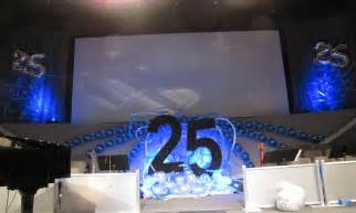 25th wedding anniversary decoration ideas living room
