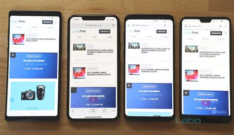 test iphone xs xs max leur design face au galaxy