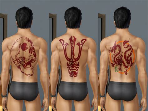 sims tattoo mod the sims 27 package