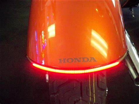 honda vtx    led integrated light bar kit  fender kit