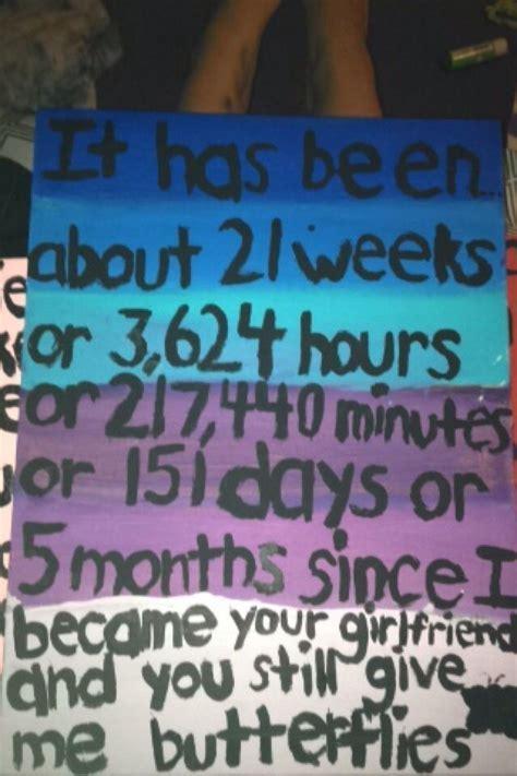 Five month anniversary present. :)   Presents   Boyfriend