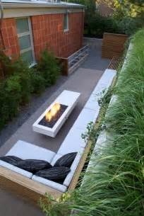 small narrow modern patio cool ideas for reusing
