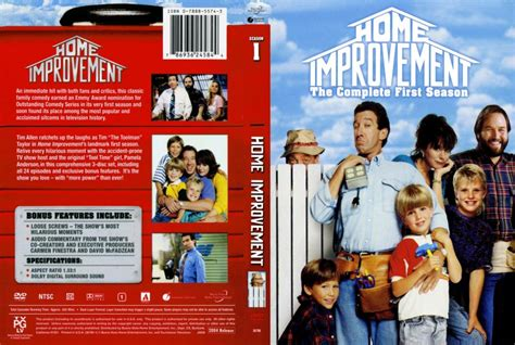 home improvement season 1 dvd scanned covers