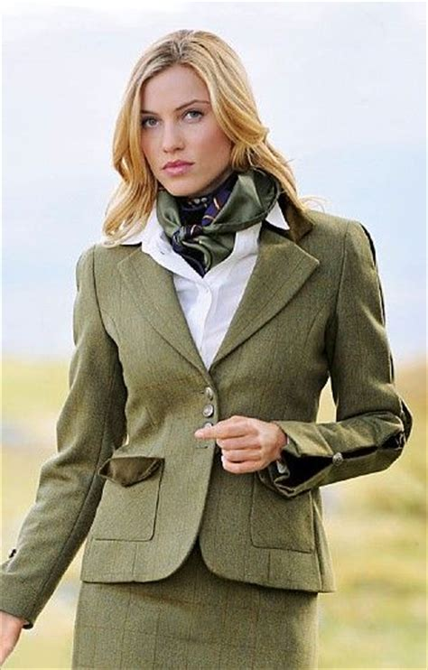 lade stile country house of bruar feature sleeve tweed jacket from