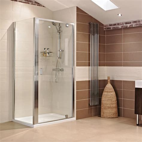 pivot door shower enclosure lumin8 pivot door shower enclosure showers