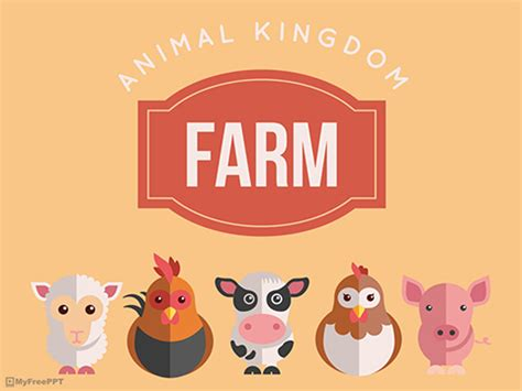 free animal powerpoint templates myfreeppt com
