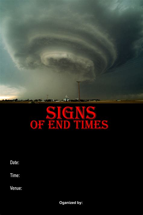 the end times in seminar workshop fyi