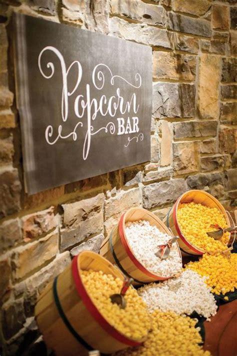 Home Decor Trends Spring 2017 26 Exciting Popcorn Bar Ideas For Your Wedding Weddingomania