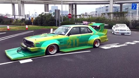 japanese custom cars video japan s weird modified cars are the weirdest