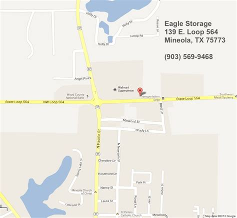 map of mineola texas eagle storage mineola texas standard and climate controlled storage buildings