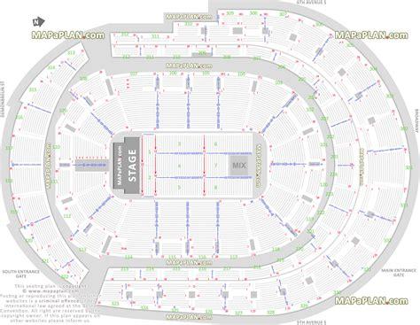 arena floor plan bridgestone arena detailed seat row numbers end stage