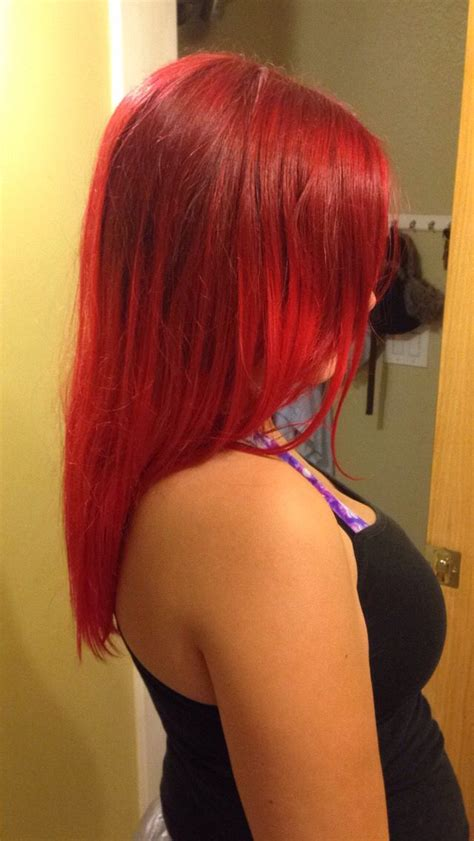 High Lights My Red Hair I Mixed Lor 233 Al Hicolor Highlights In Red