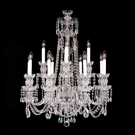 Chandeliers Crystals Chandelier 8 4 Medium With Swarovski King S