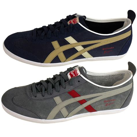 Asics Onitsuka Tiger3 mens asics onitsuka tiger mexico 66 trainers suede leather