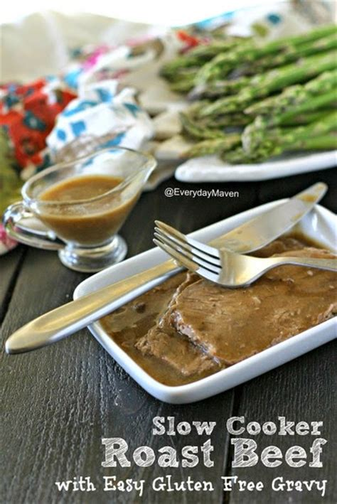 gluten free slow cooker with hamburger cooker roast beef with easy gluten free gravy from everyday maven cooker or pressure