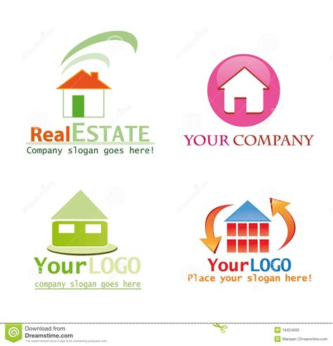 house logo design free house logo design stock photos image 16424693